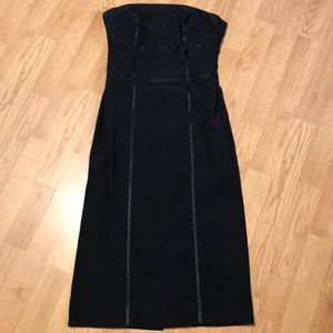 H&M women's black dress size 4